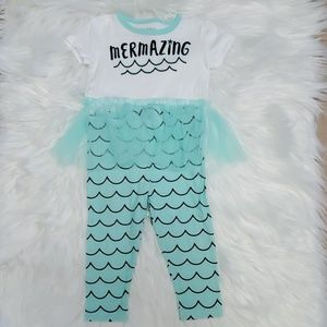 [Okie Dokie] Mermaid Outfit Size 12 months
